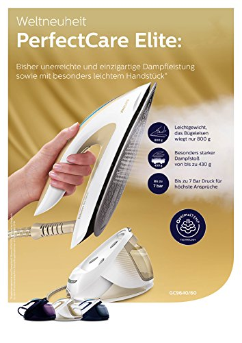 Philips GC9640/60 Test Ausstattung