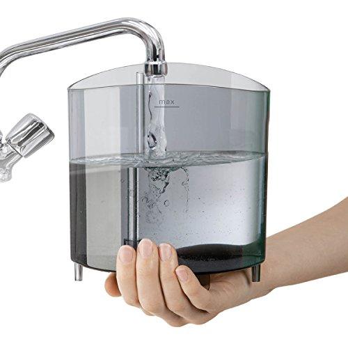 Kalkbildung in Dampfbügelstation verhindern mit gefiltertem/destilliertem Wasser